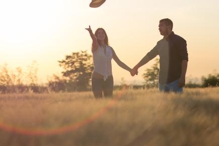 párové portrétní romantické focení