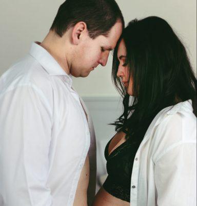 těhotenské párové focení