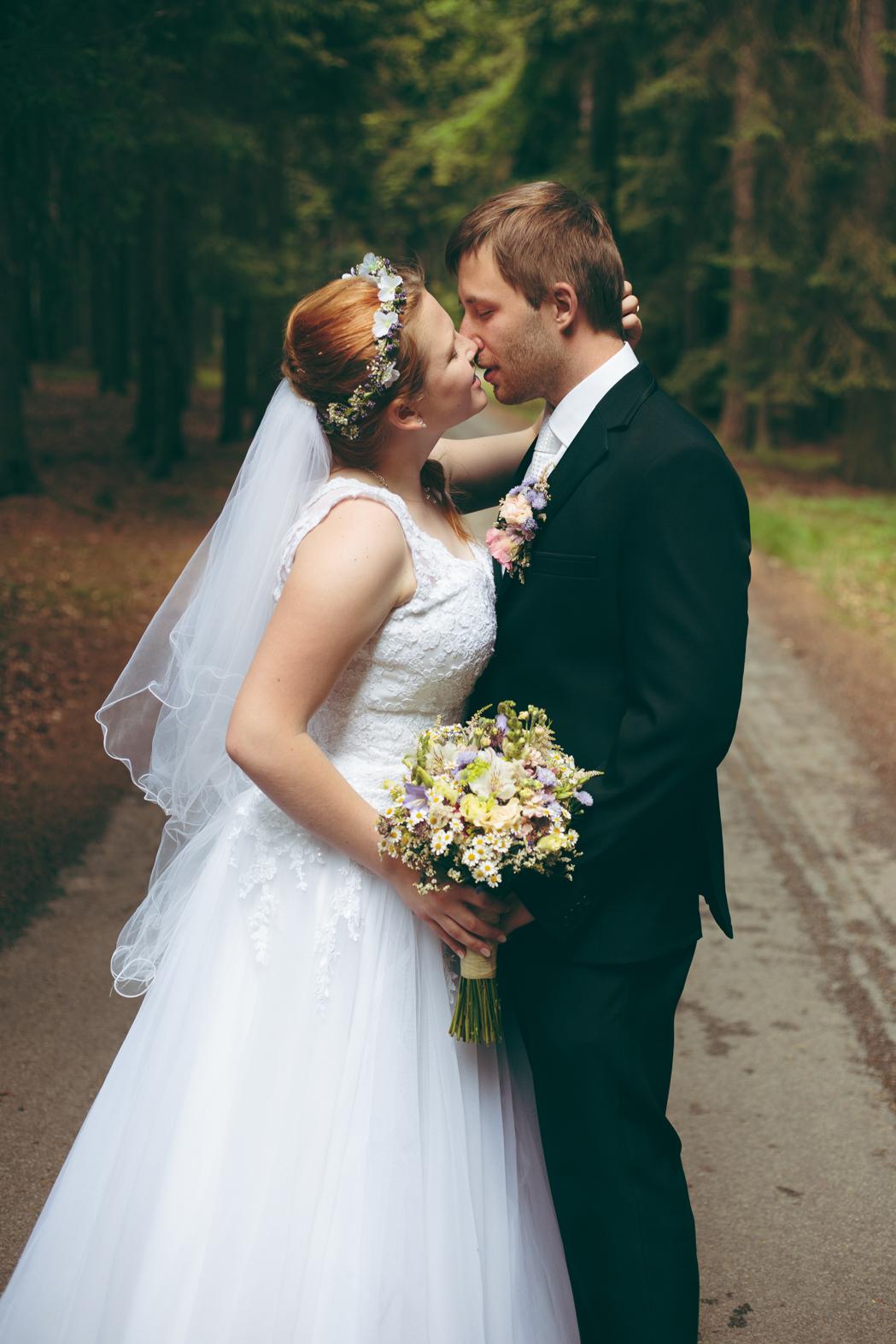 svatební focení telč