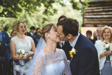 svatební obřad foto