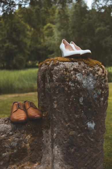 svatební foto detail