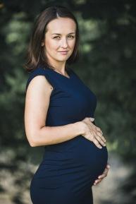 těhotenská fotka