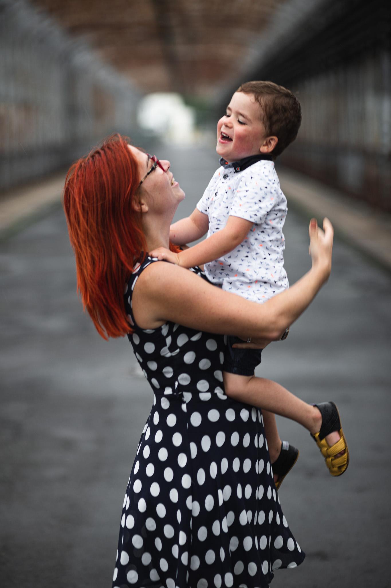Máma a syn